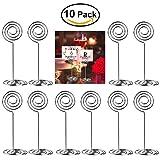 ULTNICE 10pcs Swirl Table numéro Photo porte est synonyme de rencontres Party...