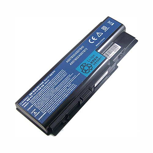 Bouyi - AAA Ersetzen Notebook Laptop Batterie AS07B42 Akku für Acer Aspire 5940G 5942G 8930G 8935G 8940G AS07B42 14.8V 8 Zell