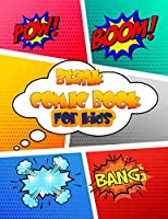 "Blank Comic Book For Kids: Variety of Templates - 119 Pages Large Big 8.5"" x 11""  (Blank Comic Books)"
