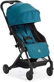 عربة اطفال يمكن طيها بالضغط من كونتورز بيتسي، لون ازرق