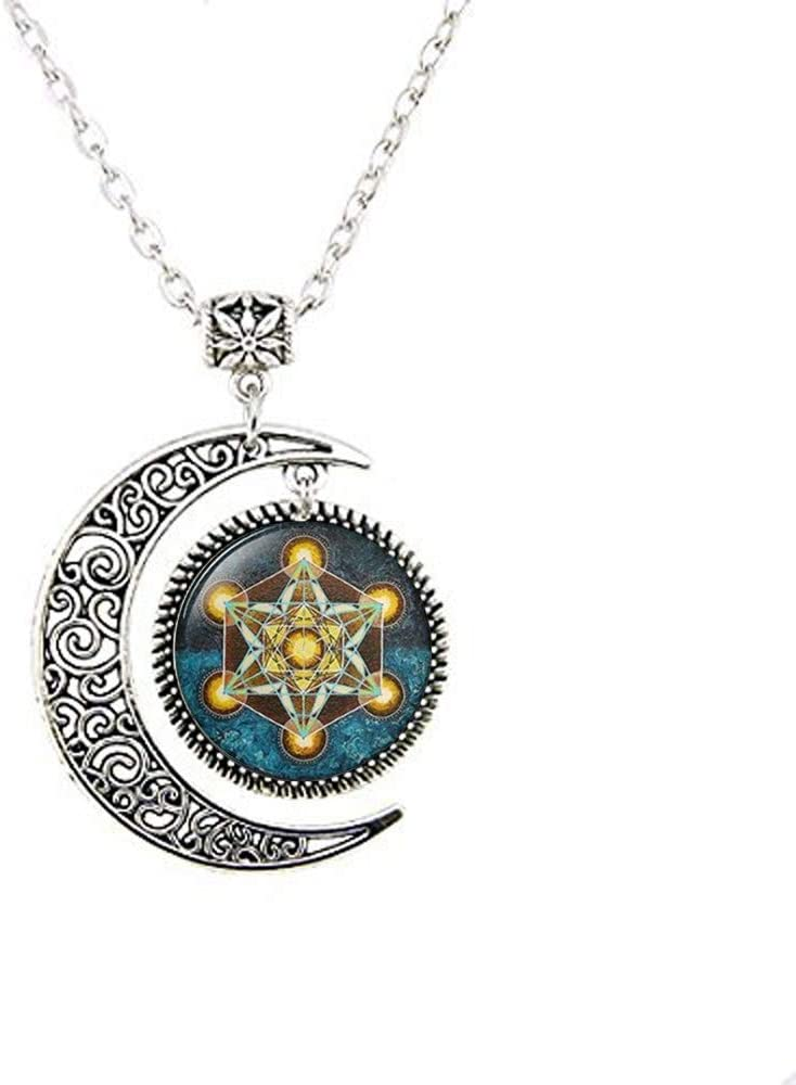 Metatron's SEAL limited product Cube Pendant Sacred Excellent Jewelry Geometry Geometric Neck