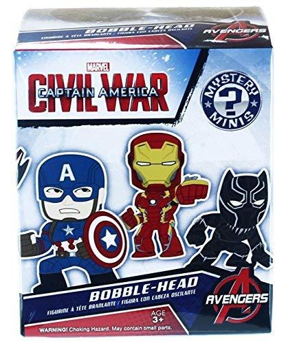 Mystery Mini: Marvel: Capitán América Civil War: una figura al azar