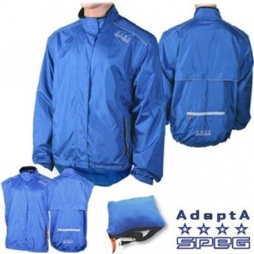 SPEG 'AdaptA Mk2' rood of blauw fietsen fietsjas/Gilet Heren Womens tieners