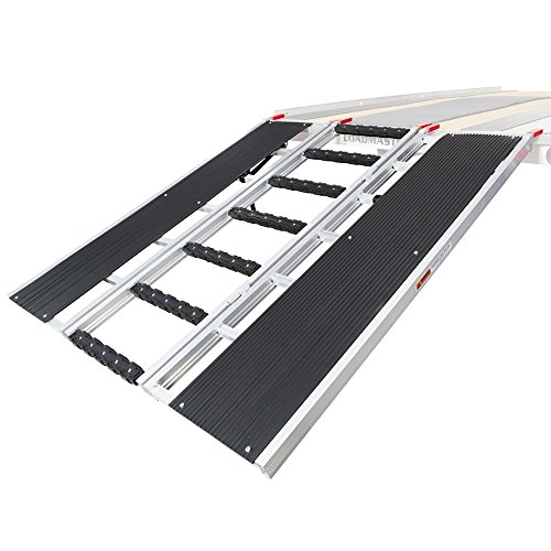 """Black Ice 60"""" x 54"""" Snowmobile Loading Ramp with Stud Protectors"""