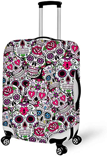 Viaje, Cremallera elástica, a Prueba de Polvo (Sugar Skull Mexicano) XL