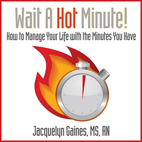 Wait a Hot Minute! audiobook cover art
