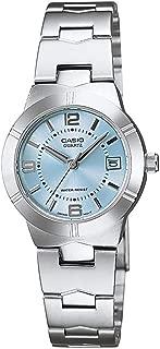 Casio Standard Women's Blue Dial Stainless Steel Band Watch - LTP-1241D-2A