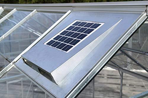 Preisvergleich Produktbild Vitavia Solarfan Solar-Dachventilator,  Stahlblech,  versch. Größen ca. 61x55, 9 cm