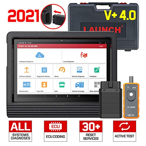 LAUNCH X431 V+ 4.0 Advanced Diagnostic Tool, ECU Coding,...