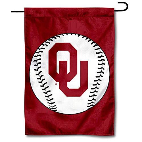 Oklahoma Sooners Baseball Garden Flag and Yard Banner