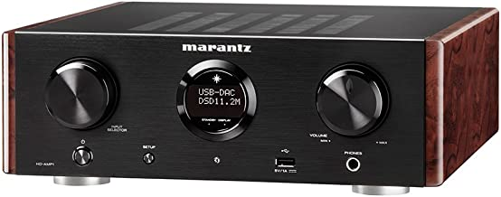 Marantz HD-AMP1 - Stereo Integrated Amplifier with Built-in DAC Premium Sound Quality Dual Analog Input Dedicated Headphon...