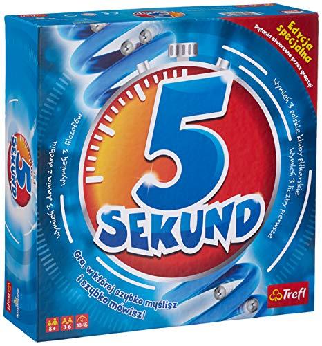 Trefl, 5 Sekund Edycja Specjalna 2.0, gra towarzyska, od 8 lat