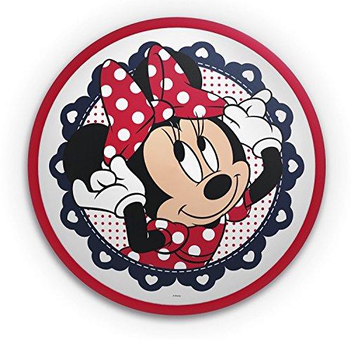 Philips Minnie Mouse 71761/31/16 Plafón, 7.5 W, Rojo