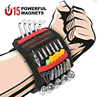 Ceenwes Magnetic Wristband Holding Screws Pick-Up Tool