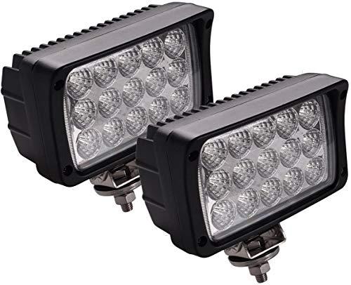 JAHURD BL-3318RMWSB-YM Off-Road LED Fog Light Bars