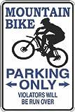 Placa Decorativa de Aluminio para Bicicletas de Montaña, Solo 8 x 12 letreros de Metal, Diseño Vintage