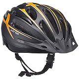ブリヂストン(BRIDGESTONE) エアリオ ヘルメット ブラック CHA5660 B371301BL L (頭囲 56cm~60cm未満)