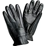 Giovanni Navarre Solid Genuine Leather Driving Gloves- M