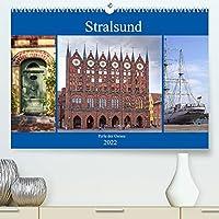 Stralsund - Perle der Ostsee (Premium, hochwertiger DIN A2 Wandkalender 2022, Kunstdruck in Hochglanz): Stralsund - Hansestadt mit Flair (Monatskalender, 14 Seiten )