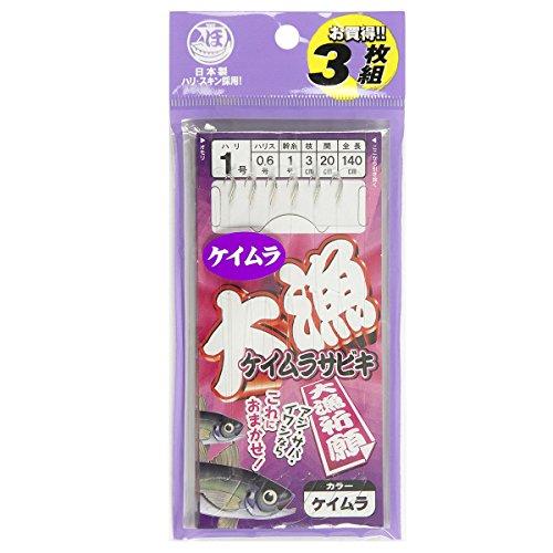 TAKAMIYA(タカミヤ) 大漁ケイムラサビキ 針1号-ハリス0.6号