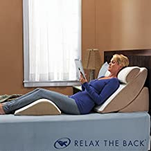 Relax The Back PureFit Adjustable Bed Wedge Pillow System - Zero Gravity, Adjusts to Any Position - Eco-Memory Foam, 4 Pieces