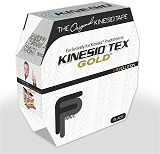 fabrication enterprises Kinesio Tape,  Tex Gold FP (Black)