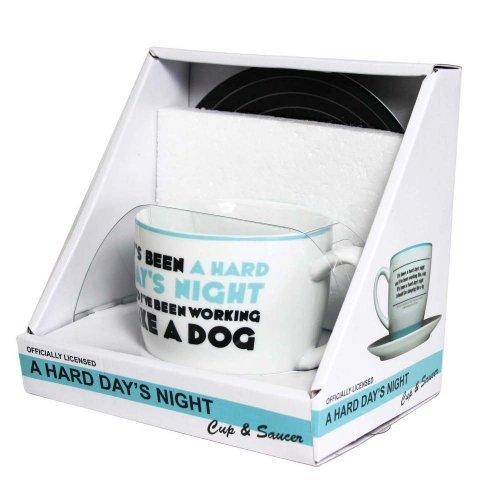 The Beatles - A Hard Days Night Mug and Saucer Set