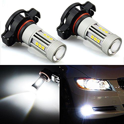 JDM ASTAR Bright White 3030 Chipsets PSX24W 2504 LED Fog Light Bulbs