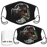 Jurassic Park - Máscara antipolvo para adultos y niños mayores (con varios filtros)