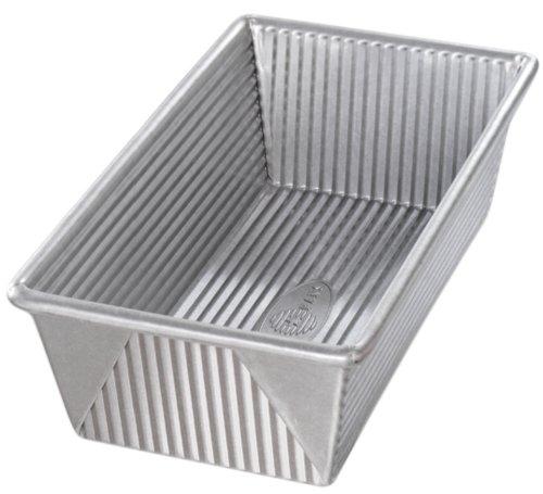 USA Pan Bakeware Aluminized Steel Loaf Pan, 1.5 Pound