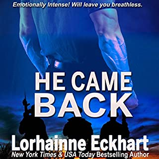 He Came Back audiobook cover art