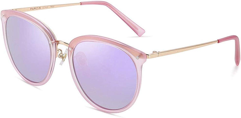 ZXW Sunglasses Sunglasses Light Retro colorful Film Tide Driver Sunglasses Driving Mirror Polarized Glasses (color   Purple, Size   OneSize)