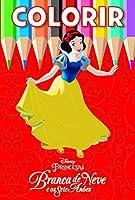 Branca de Neve - Coleção Disney Colorir Médio