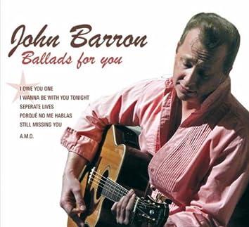 John Barron - Ballads for You