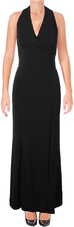 Lauren Ralph Lauren Surplice Women Crepe Ball Gown Dress