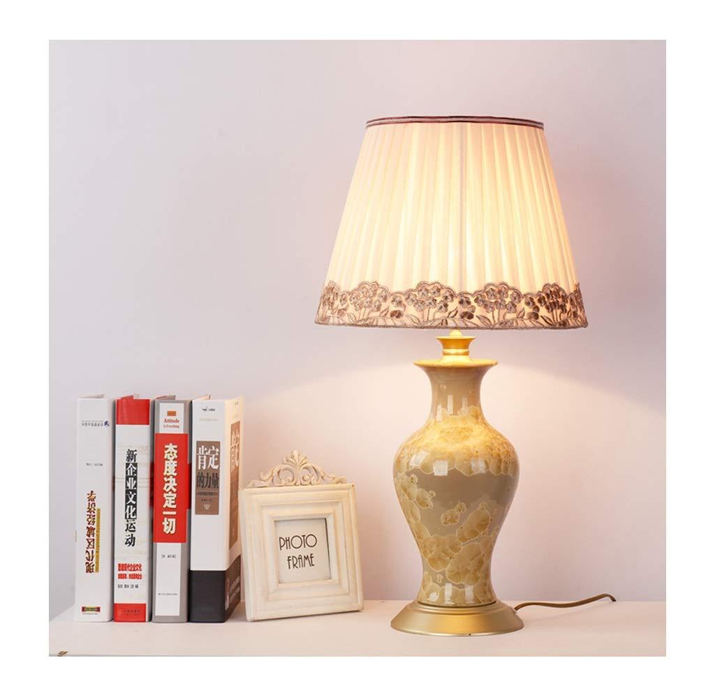 & Tischlampe Licht American Retro Wohnzimmer Tischlampe Stilvolle