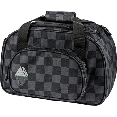 Nitro Snowboards Duffle Bag XS, Bolsa de Deporte 35 litros, 40 cm, Checker