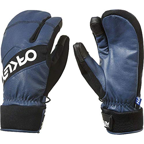 Oakley Factory Winter 2 Ski Gloves Large Dark Blue