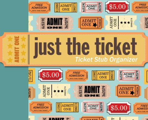 Peter Pauper Press, I: Just the Ticket Organizer