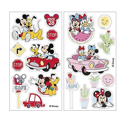 Dekora 231343 y Minnie Disney Mickey Mouse Esspapier für Geburtstagskuchen, Torten, Cupcakes und Muffins, Rosa