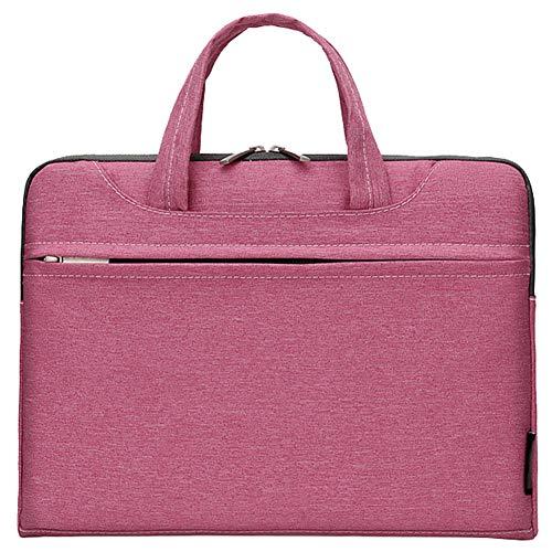 """Wasserdicht Laptop Tasche Aktentasche Tragetasche mit Griff versteckbar,Rosa,15\"""" (41 * 32 * 4) cm"""