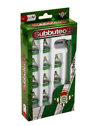 ELEVEN FORCE Subbuteo Teambox Real Betis (81939), multicolor