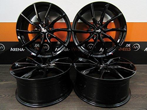 4 Alufelgen NB Wheels NB1 18 Zoll passend für A AMG B C CL CLA E GLA GLE GLK M R SLK S Vito NEU