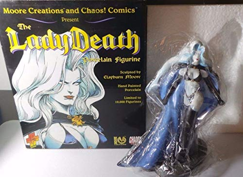 Comics Brian Pulidos LADY DEATH Action Figure Moore Action Collectibles SG/_B000RV2AJQ/_US 1997 Chaos