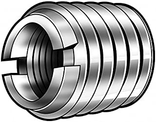 3//8-24 Internal Threads Helical 0.56 Length Pack of 10 304 Stainless Steel Powercoil 3534 Series Threaded Insert