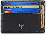 TRAVANDO ® Tarjetera con Seguridad RFID, PROTECCIÓN, Billetera Fina, Cartera Pequeña,...