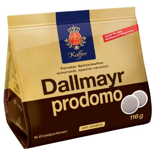 Dallmayr prodomo, 16 Dosettes de Café