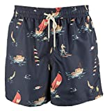 Ralph Lauren Polo Mens Classic Printed Traveler Swim Trunks (X-Large, Montego Deco)