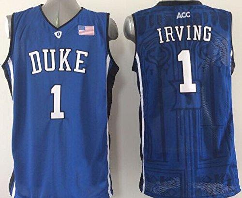 Hombre Duke Azul Devils no. 1Irving Baloncesto Jersey NCAA Baloncesto Jersey para Hombre