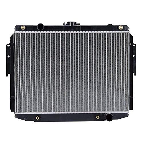 Klimoto Radiator | fits Dodge Ram 1500 2500 3500 Van 3.9L V6 5.2L 5.9L V8 | Replaces CH3010175 CH3010179 52029116 52029117 52029119